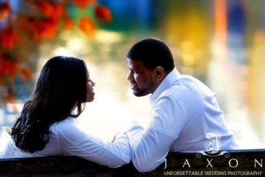 Read more about the article Engagement at Piedmont Park   Taramesha & Adrian