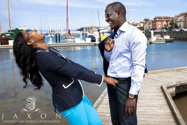 San Francisco Engagement Session | Susan & Taiwo