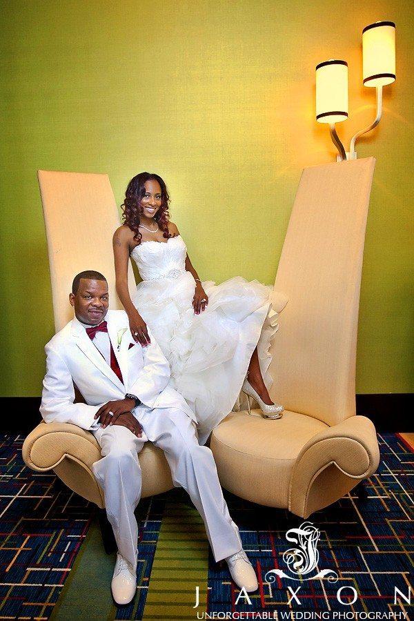 Atlanta Marriott Gateway Wedding | Angela & Victor