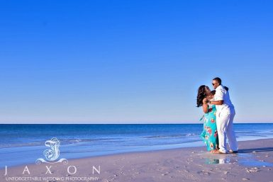Talya & Dwayne Beach Engagement Photography Session