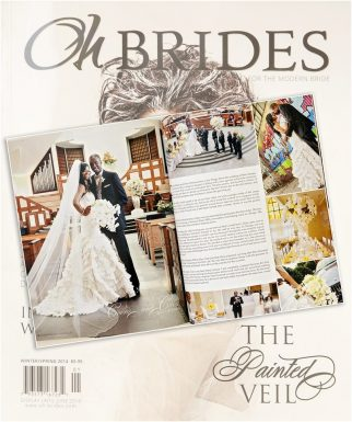 200 Peachtree Wedding | Published in Oh-Brides Magazine