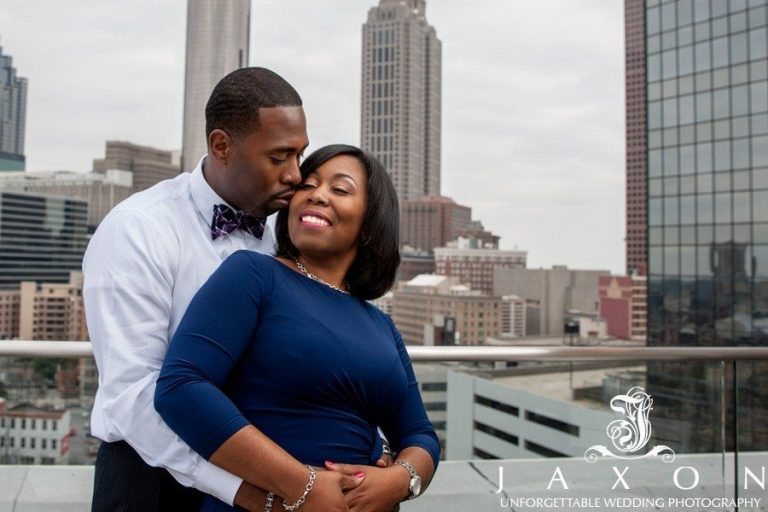 Glenn Hotel Engagement Session | Atlanta