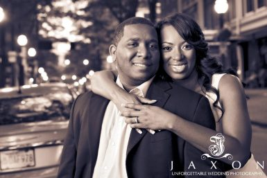 Woodruff Park Engagement Session | Brittany & Nicholas