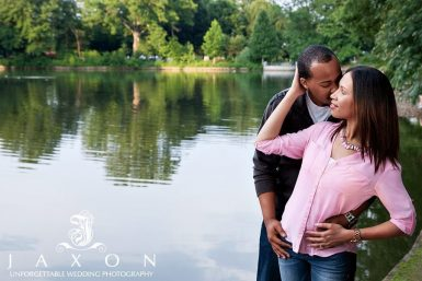 Piedmont Park Engagement Session | LaKimberly & Demetrius
