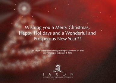 Happy Holidays & Best Wishes for a Happy New Year