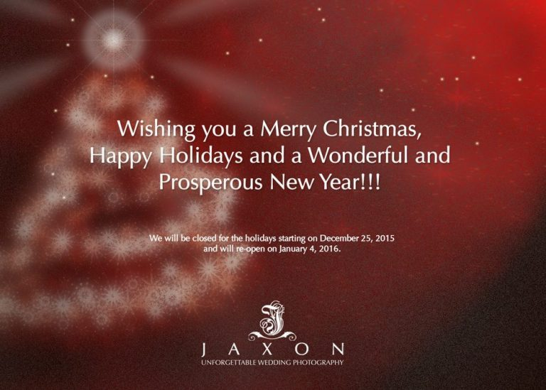Read more about the article Happy Holidays & Best Wishes for a Happy New Year