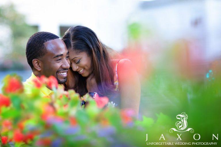 Woodruff Park Atlanta Engagement | Danielle and Marcus